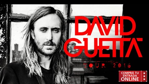 David Guetta en big Show en Alicante