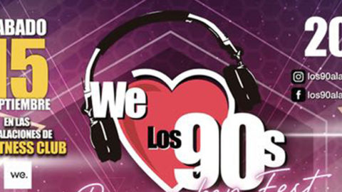 WE LOS 90´S REMEMBER FESTIVAL